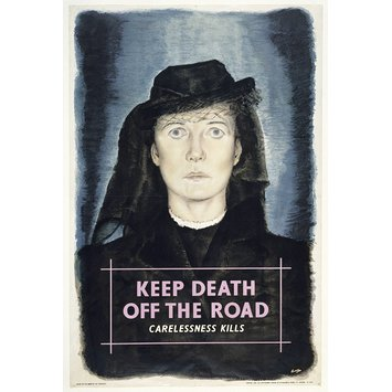 Poster - Keep Death off the Road