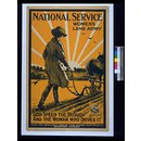 National Service. Women's Land Army. (Poster)