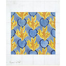 The Flaming Heart (Textile design)