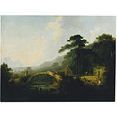 Rydal Bridge, Westmoreland (Oil painting)