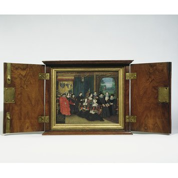 Portrait miniature - Sir Thomas More, his household and descendants