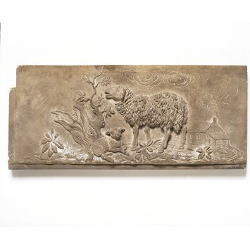 Relief - Sheep and a lamb