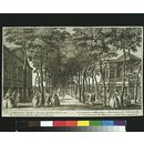 A View of Marybone Gardens (Print)