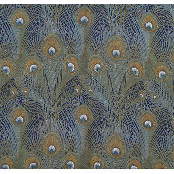 Furnishing fabric - Peacock Feathers