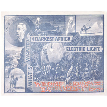 Print - What is wanted in Darkest Africa is the Electric Light