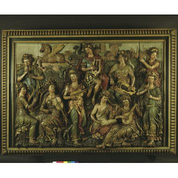 Panel - Apollo and the Nine Muses