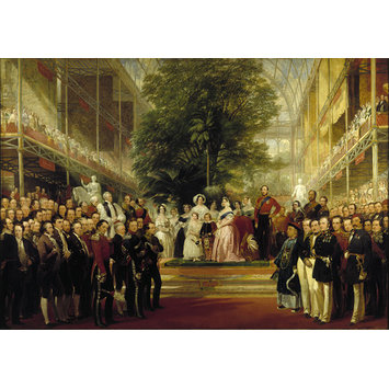 Oil painting - The Opening of the Great Exhibition by Queen Victoria on 1 May 1851