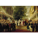 The Opening of the Great Exhibition by Queen Victoria on 1 May 1851 (Oil painting)