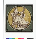 Classical Figures with Musical Instruments (Tile)