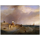 View on the Scheldt (Oil painting)
