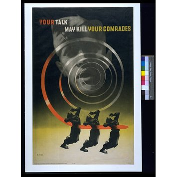 Poster - Your talk may kill your comrades