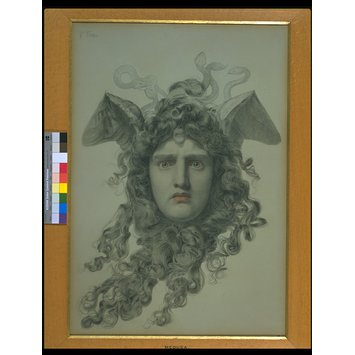 Drawing - Medusa