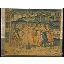 Orpheus and the Muses (Tapestry)