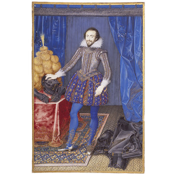 Portrait miniature - Richard Sackville, 3rd Earl of Dorset
