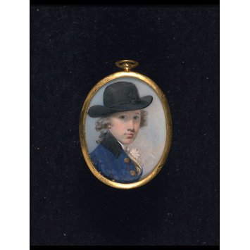 Portrait miniature - Sir Thomas Stepney