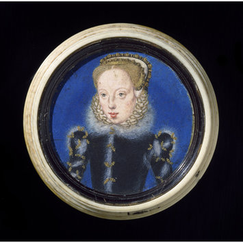Portrait miniature - Portrait miniature of Katherine Grey, Countess of Herford