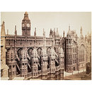 Westminster, Henry VII Chapel Exterior and Westminster Hall (Photograph)