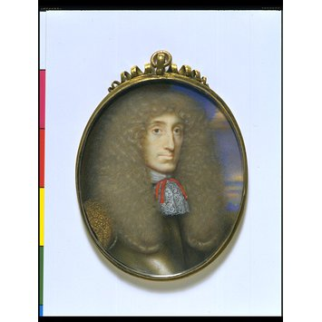 Portrait miniature - Robert Kerr, Earl and subsequently Marquis of Lothian
