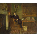 John Forster in His Library (Oil painting)