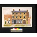 House at Easingwold (Watercolour)