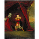 William Robert Grossmith as Richard in 'Richard III' by William Shakespeare (Oil painting)