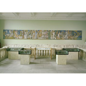 Tile frieze - Pottery through the Ages
