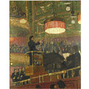Sir Henry Wood in the Queen's Hall (Painting)