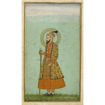 Painting - The emperor 'Alamgir (Aurangzeb)
