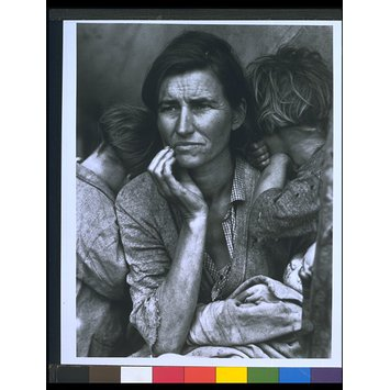 Photograph - Migrant mother