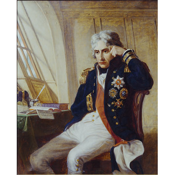 Oil painting - Vice Admiral Lord Nelson