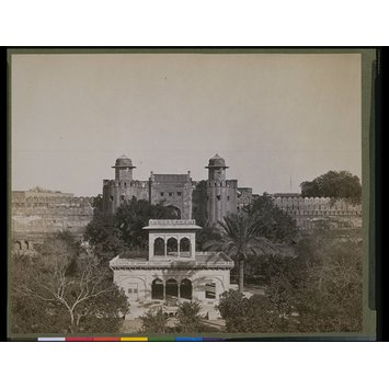 Photograph - Hazuri Bagh and the fort, Lahore