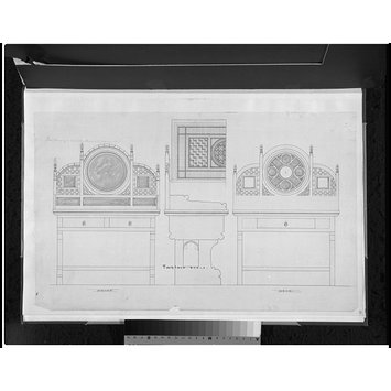 Design for a dressing table