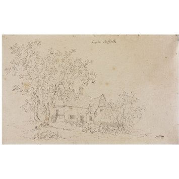 Drawing - Cottage at Capel, Suffolk