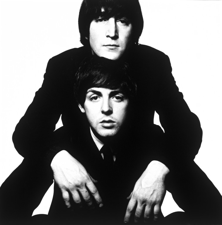 John Lennon And Paul McCartney Bailey David Born 1938 Enlarge Image