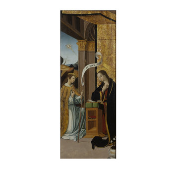 Oil painting - The Annunciation