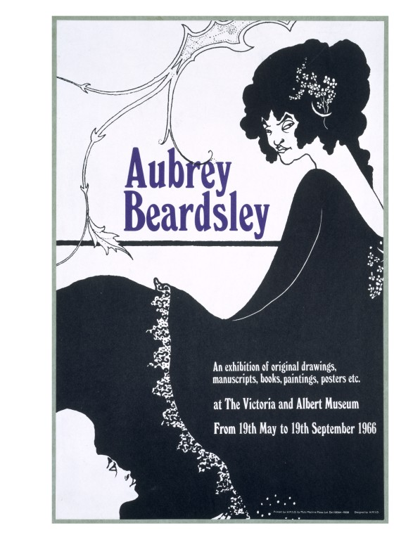 Line Art Poster Design : Aubrey beardsley vincent v a search