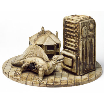 Sculpture - Wendy House, Dragon and Machine