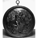 Hercules and the Nemean Lion (Roundel)