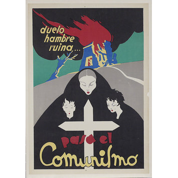Poster - Grief famine ruin/ the effects of Communism