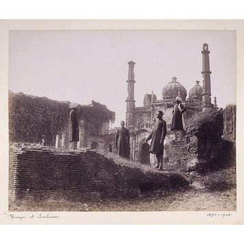 Photograph - The Mosque at Lucknow