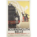 """Bournemouth Belle"" (Poster)"
