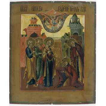 Icon - Icon of the Vision of St Sergei of Radonezh