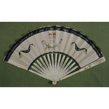 Fan - Recovery of George III from Illness