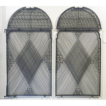Pair of window grilles