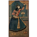 Lady Dancing and Playing Castanets (Oil painting)