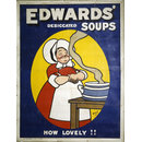 Edward's Desiccated Soups. How Lovely! (Poster)