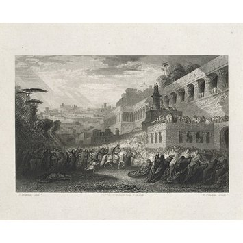 Print - The Triumph of Mordecai