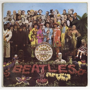 Record Sleeve - Sgt. Pepper's Lonely Hearts Club Band