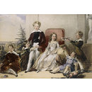 The six children of Elhanan Bicknell Esq (Watercolour)