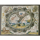 Alpheus and Arethusa (Embroidered picture)